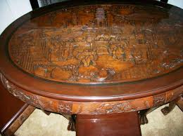 Carved Coffee Table Japanese Hand Carved Coffee Table Worldtipitaka Org