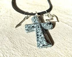 cross necklace holy spirit dove necklace confirmation gift for