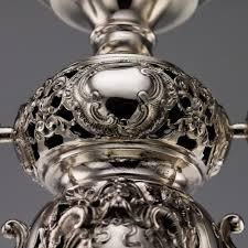 Bohemian Glass Chandelier Pushkin Antiques U2014 Antique 19thc German Solid Silver U0026 Enamelled