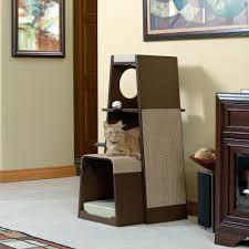 furniture fashionable inspiration modern cat tree home designing