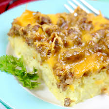 sausage hash brown breakfast casserole the country cook