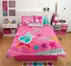 music themed queen comforter 148 99 pink rock guitar comforter bedding set twinfrom comforter