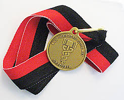 graduation medallion court medallions coins ribbons and keytags from the