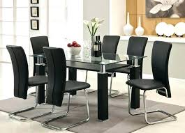 cheap glass dining room sets round glass kitchen table sets lesdonheures com