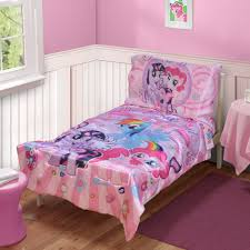 toddler bed bedding for girls my little pony 4 piece toddler u0027s bed set