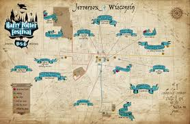 Harry Potter World Map by Harry Potter Festival Aerial Rides And Tours Jefferson Wi