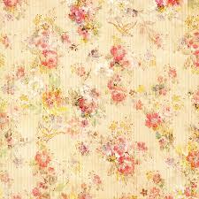 shabby chic vintage antique rose floral wallpaper stock image