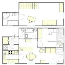 Duplex Layout by Paris Apartment Long Term Rental Saint Michel 75005 Paris