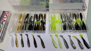 set a b 72pcs 12 colours 3 u2033inch shad tails of fish