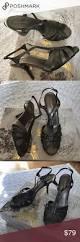 bcbgmaxazria silver black sandals heels shoes beautiful shoes all