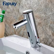 Touch Water Faucet Aliexpress Com Buy Fapully Bathroom Water Mixer Basin Faucet