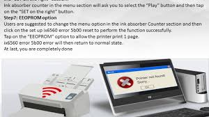 reset pixma ix6560 steps to reset canon ix6560 printer 1 800 610 6962 toll free youtube