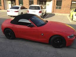bmw z4 toronto matte bmw z4 vehicle customization shop vinyl car wrap