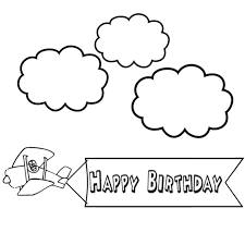 happy birthday coloring pages for kids coloring happy birthday