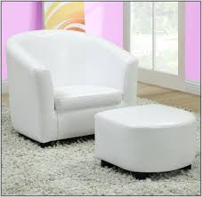 Accent Chair With Ottoman Ottomans Accent Chair And Ottoman Set In Script Pattern