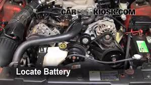 mustang battery how to clean battery corrosion 1994 2004 ford mustang 2004 ford
