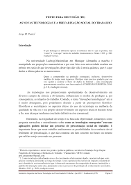 a oport de si e social the promises and perils of 21st century pdf available