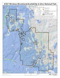 Verizon Coverage Map Utah by June 2012 Map Of The Month National Parks Utah Broadband