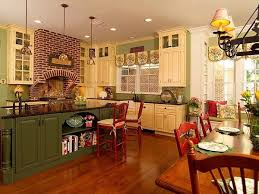 country kitchen island kitchen green country kitchen island small decorating ideas chic