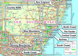 map of new south wales south wales map