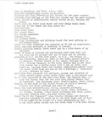 What Hobbies To Put On Resume Woody Allen U0027s Resume From 1965 Reveals His Ambition Wit As A 30