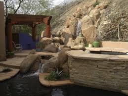 Desert Backyard Landscaping Ideas Phoenix Landscaping Backyard Getaway Patio Designs Desert Crest