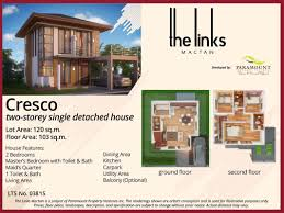 the links mactan cebu subdivision paramount property ventures the links mactan cebu cresco model house