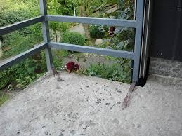 estrich balkon estrich auf balkon erneuern