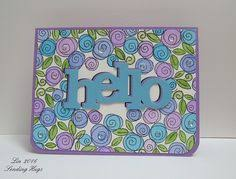 using tim holtz dies rounded tag top not showing die cuts