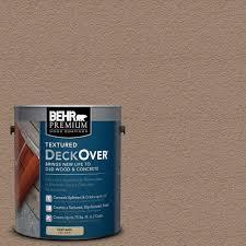 behr premium deckover 1 gal wood and concrete coating 500001