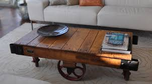 Wooden Coffee Table With Wheels by Lovable Rustic Coffee Table With Wheels Rustic Coffee Table