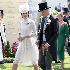 kate middleton u0027s alexander mcqueen dress at the royal ascot 2017