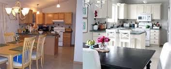 renovation cuisine renovation cuisine bois avant apres 14 agrandissement de maison