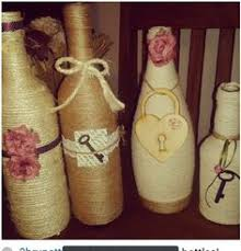 twine wrapped bottles for st s day rabbit