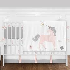Pink And Gold Nursery Bedding Baby Crib Bedding