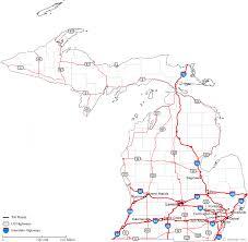area code map of michigan map of michigan