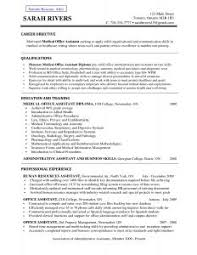 resume template objective examples branch manager gogetresume