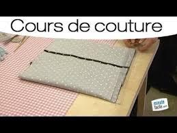 couture coussin canapé coudre une housse de coussin en forme portefeuille