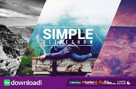 simple fast slideshow videohive free download free after
