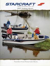 1997 starcraft fishing catalog starcraft marine