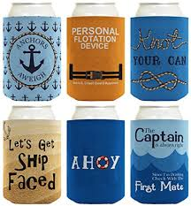 nautical wedding sayings coolie gift bundle nautical themed boating sailing