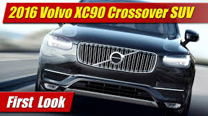volvo jeep 2006 first look 2016 volvo xc90 crossover suv youtube