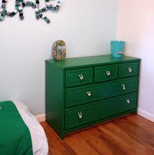 furniture diy dresser drawer pulls with green color and wooden