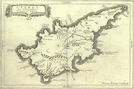 Map Of Cyprus Little Nightingale