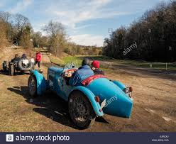 off road sports car old vintage cars competing in hill climb trials off road in stock