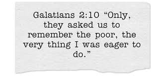 7 bible verses helping poor