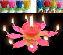 amazing birthday candle best amazing musical birthday candles magic musical lotus flower