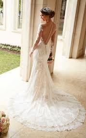 wedding dress with exquisite wedding dress with lace sleeves dresses gown jemonte