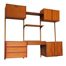 Modular Wall Units Modular Danish Modern Teak Cado Wall Unit After Poul Cadovius For