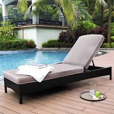 Outdoor Wicker Chaise Lounge Crosley Furniture Catalina Outdoor Wicker Chaise Lounge Walmart Com